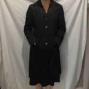 Michael Kors Black Raincoat
